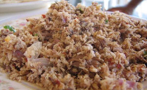 Mas Huni (Thunfisch & Kokosnuss Salat)