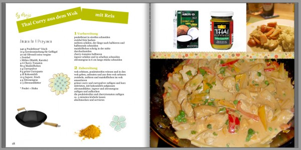Anja's Thai Curry aus dem Wok