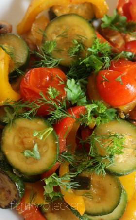 Mediterranes Schmorgemüse