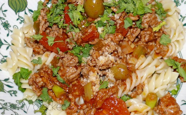 Ralf's ultimative Sauce Bolognese mit Pasta