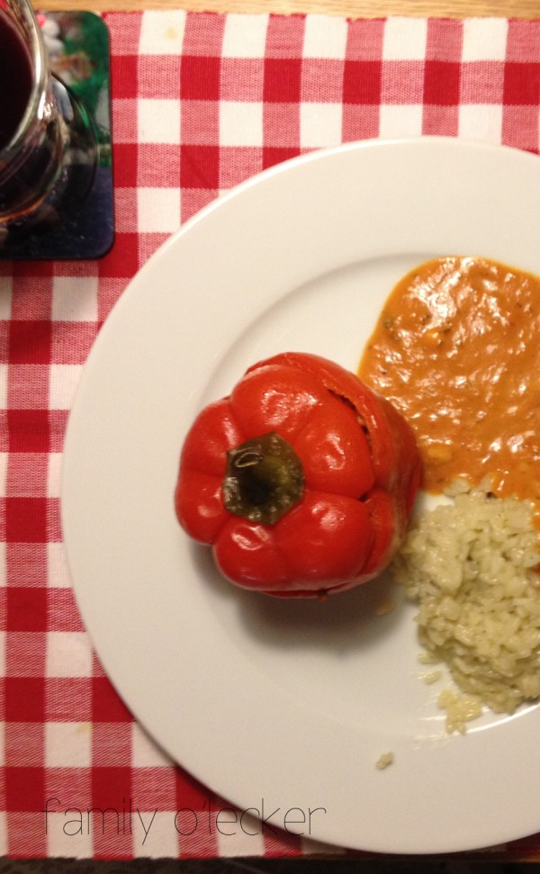Gefüllte Paprika / Peperoni