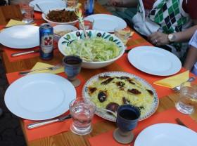 Mehry's Persischer Reis mit Kartoffelkruste ( Tahdig )