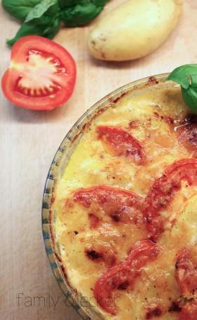 Kartoffel-Tomaten Auflauf