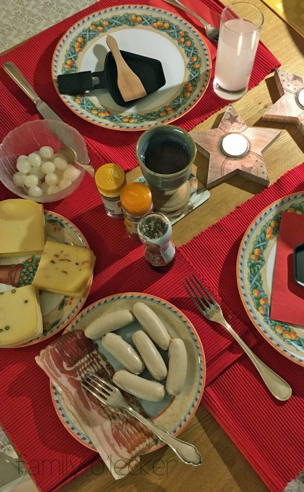 Raclette – oder Weihnachten im alten Fischerhaus, Hitdorf/Rhein