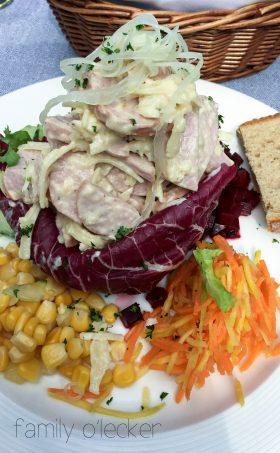 Schweizer Wurst-Käse-Salat