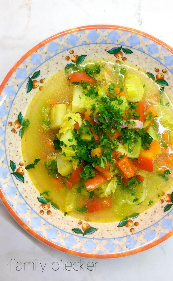 Gemüse One-Pot mit Lauch und Rüebli